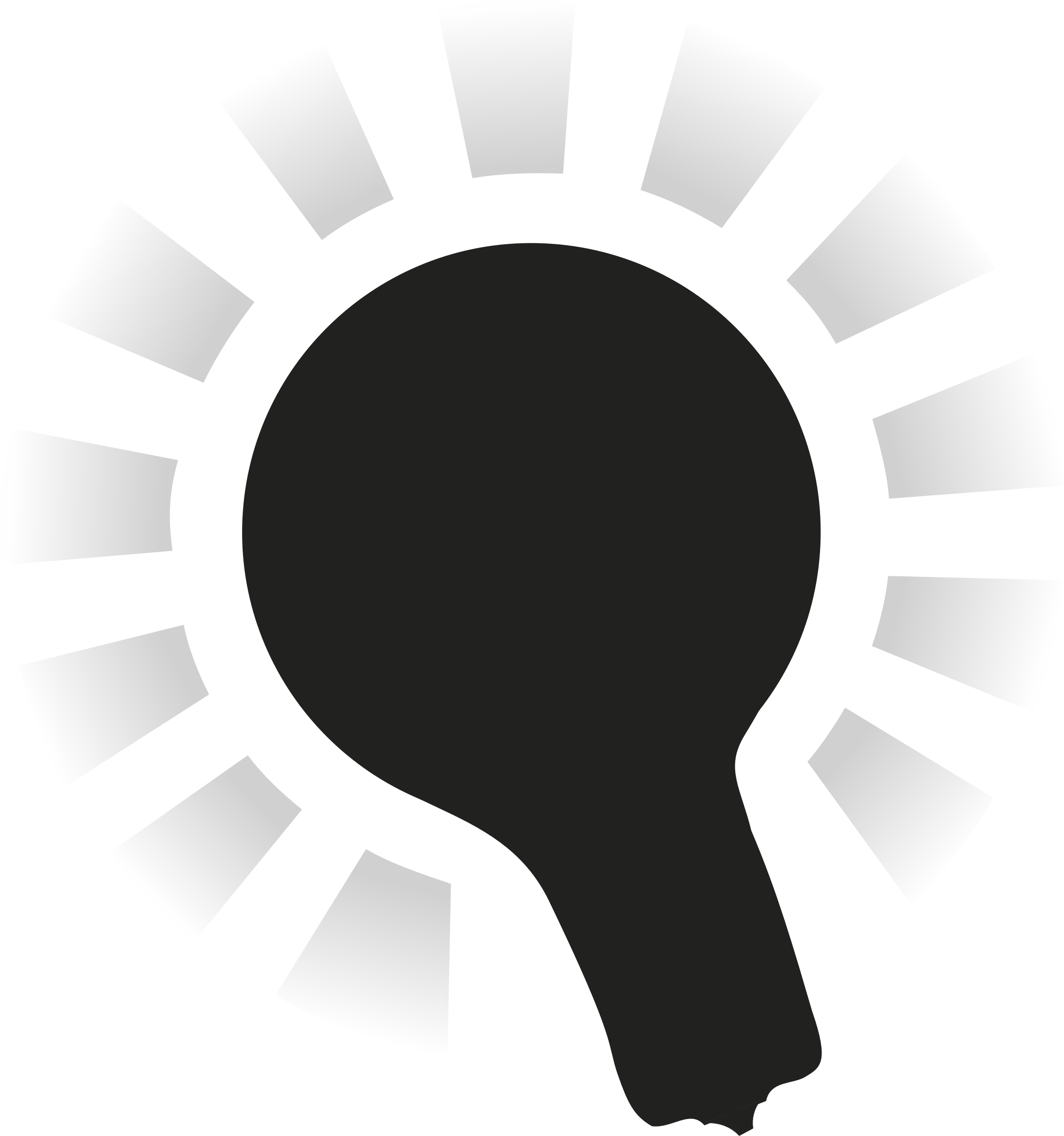 picture free download Halo clipart black and white. Lightbulb with big image