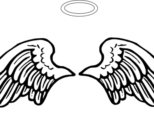png black and white download Angels Halo Free Download Clip Art