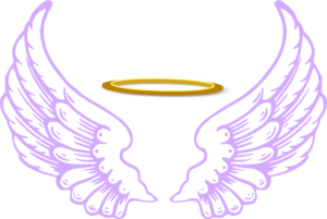clipart free library Angel Halo With Wings Clip Art
