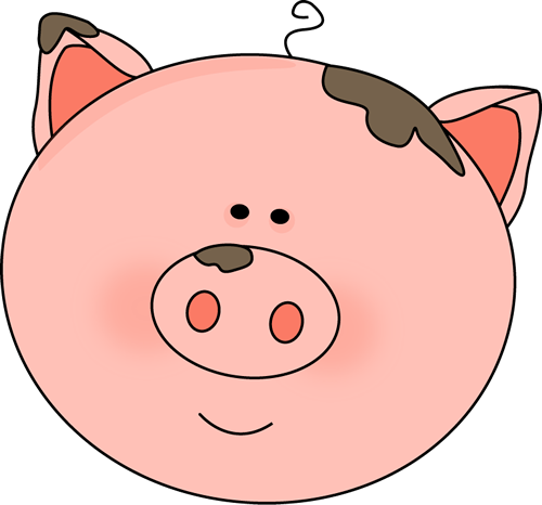 picture library stock Ham clipart pig. Face with mud images