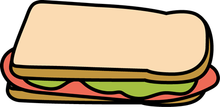 clip free download Sandwich cliparts free download. Ham clipart sandwhich