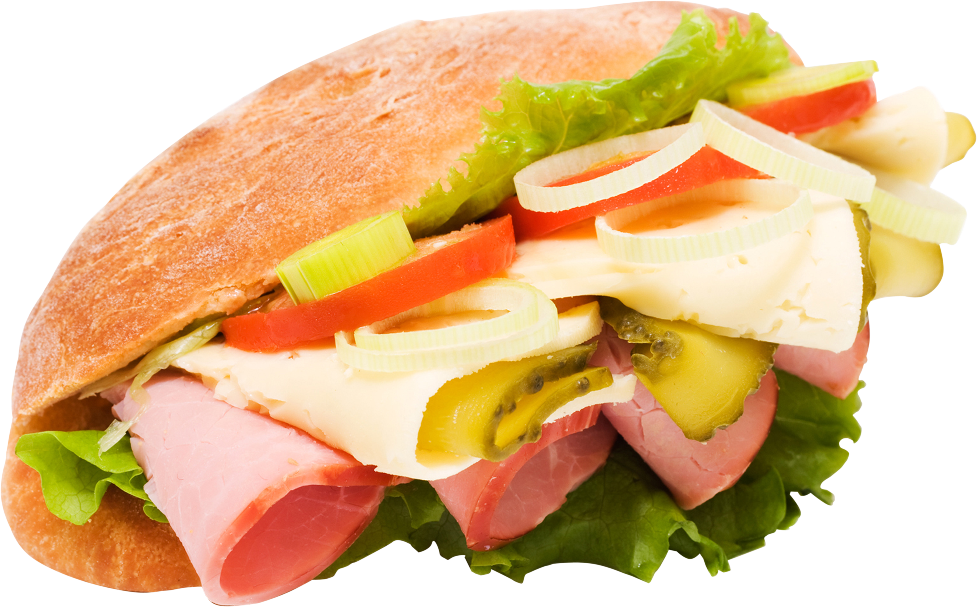 freeuse stock Burger and sandwich png. Ham clipart sandwhich