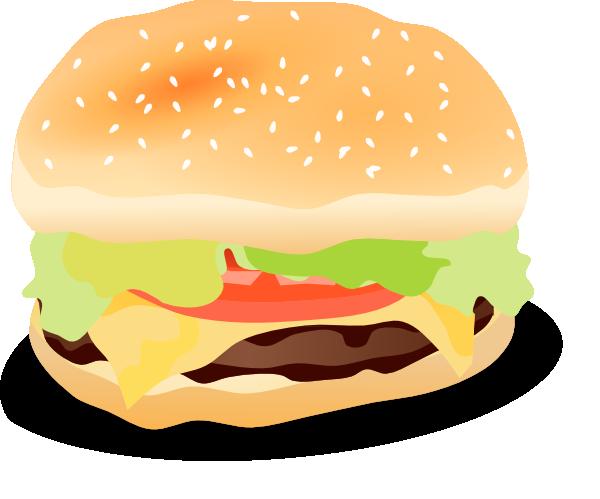 clip free stock Hotdog And Hamburger Clipart