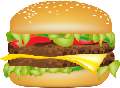 clip art transparent download Clipartaz free collection burger. Hamburger clipart.