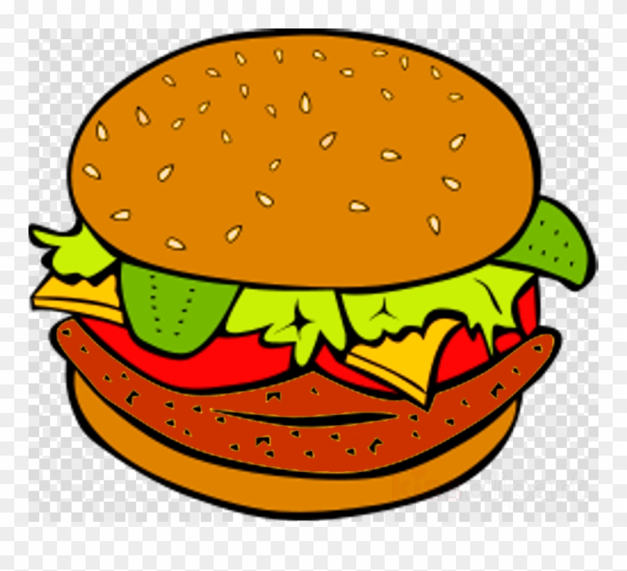 png royalty free download Clip art cheeseburger barbecue. Hamburger clipart.