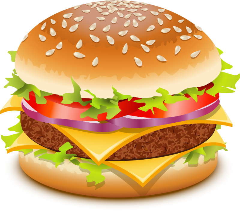 clip art library download Hambuger free on dumielauxepices. Hamburger clipart.