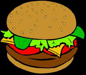 png free Hambuger free on dumielauxepices. Hamburger clipart cartoon