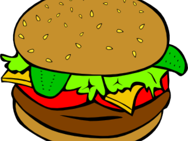 svg black and white library Pictures free download clip. Hamburger clipart cute