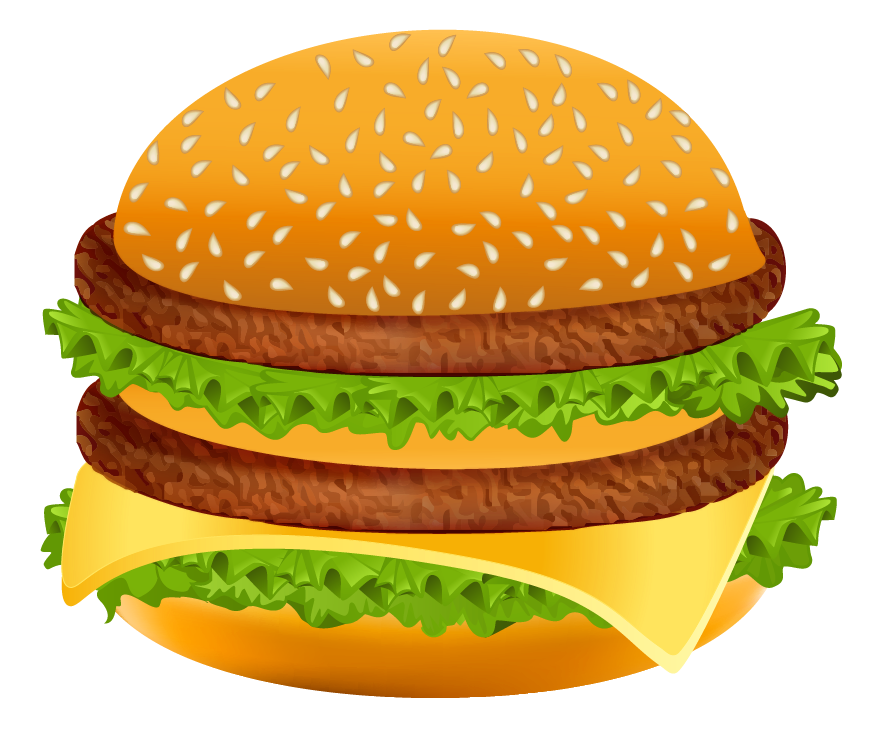clip black and white library Hamburger png clipart image. Vector burger high resolution