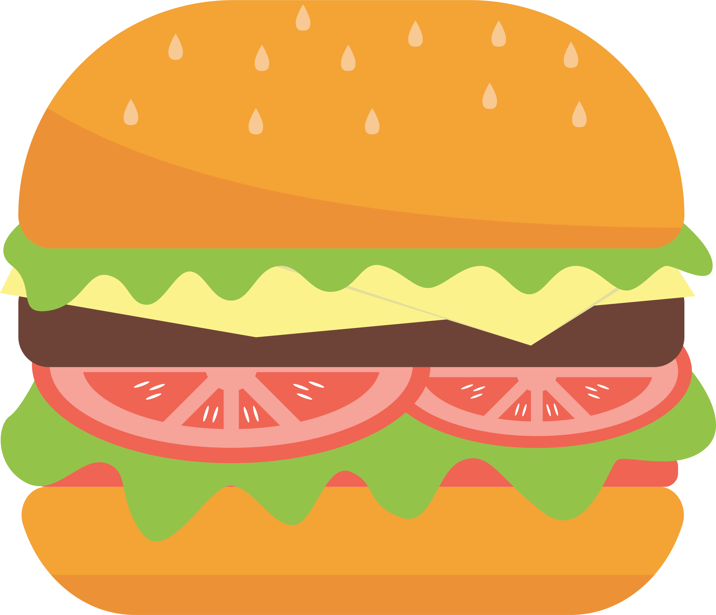 banner royalty free stock Big image png. Hamburger clipart hambuger