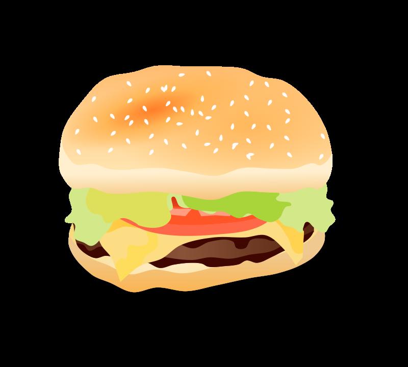 vector royalty free Hamburger clipart vegetarian burger. Veggie free on dumielauxepices