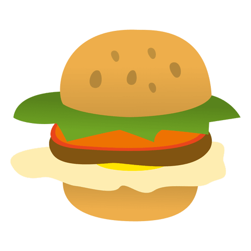 banner free download Vector burger cartoon. Hamburger funny transparent png