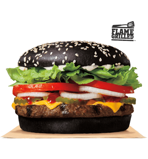 png library Eating a Burger King Black Whopper Causes a