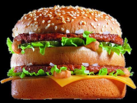 picture hamburger transparent big mac #97429308