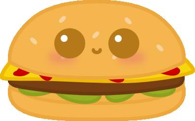 clip freeuse Kawaii Burger by amis