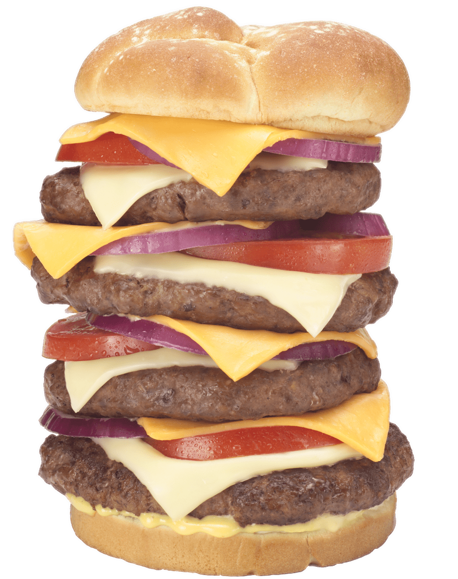 clip royalty free Quadruple Bypass Burger At Heart Attack Grill