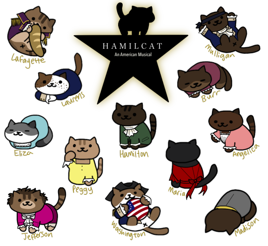 clipart library More like an Hamilcat an America Mewsical
