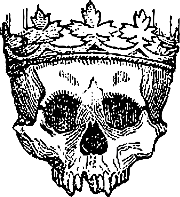 image black and white download Hamlet Skull Drawing at GetDrawings