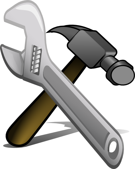 picture royalty free Free on dumielauxepices net. Hammer clipart hammer wrench