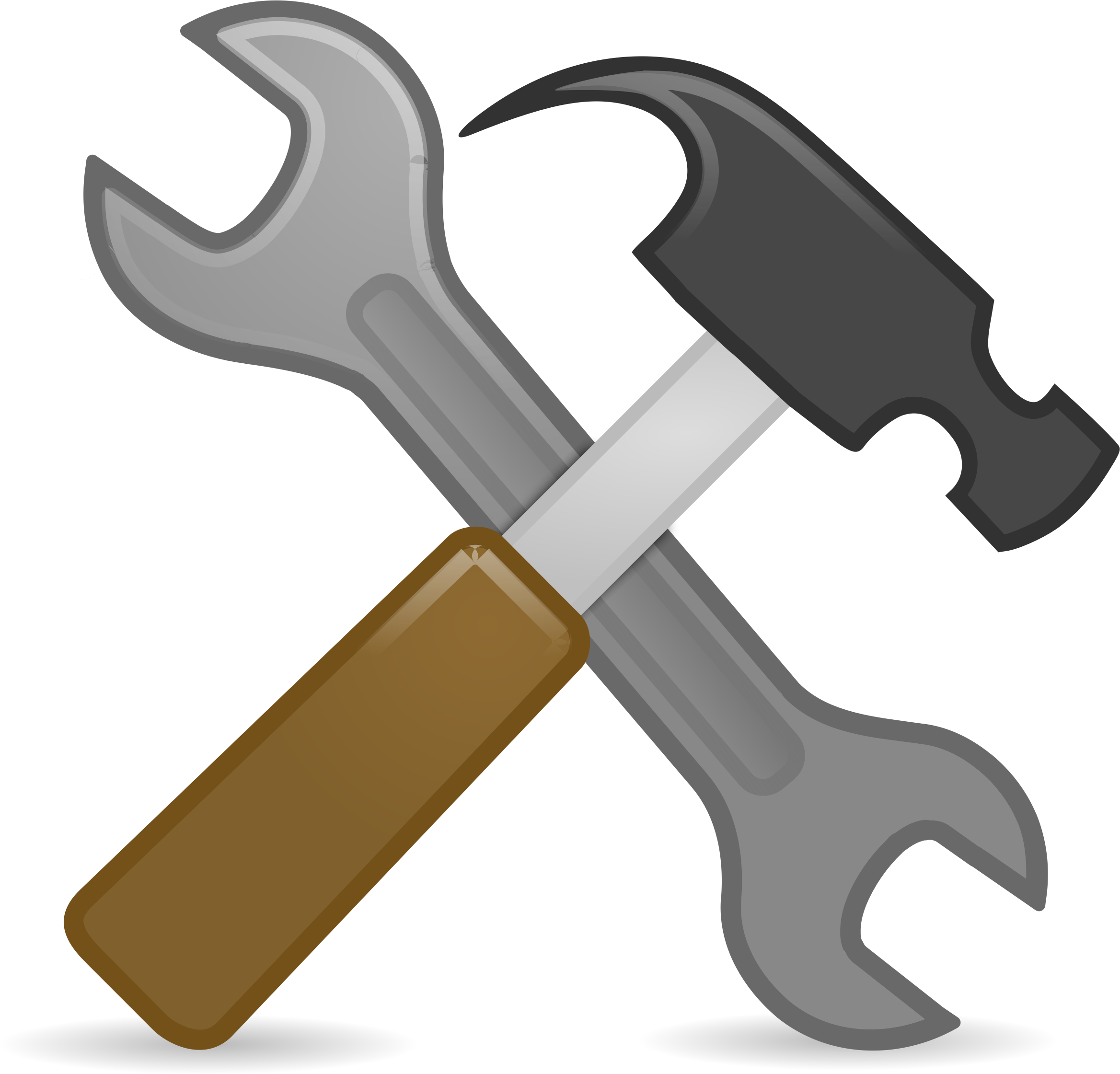 royalty free Hammer clipart hand tool. System preferences big image
