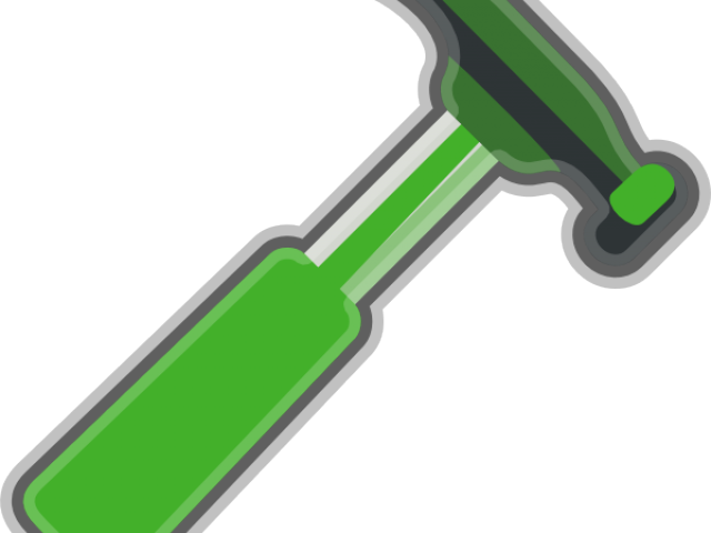 graphic royalty free download Living thing free on. Hammer clipart paintbrush
