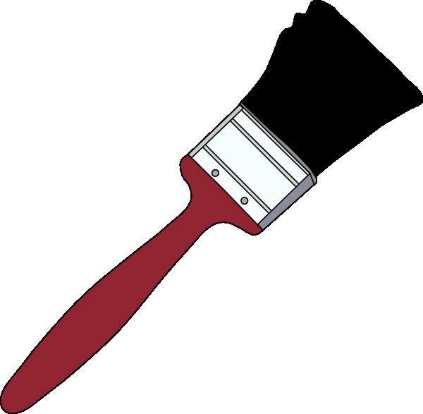 clipart free stock Paint brush large free. Hammer clipart paintbrush