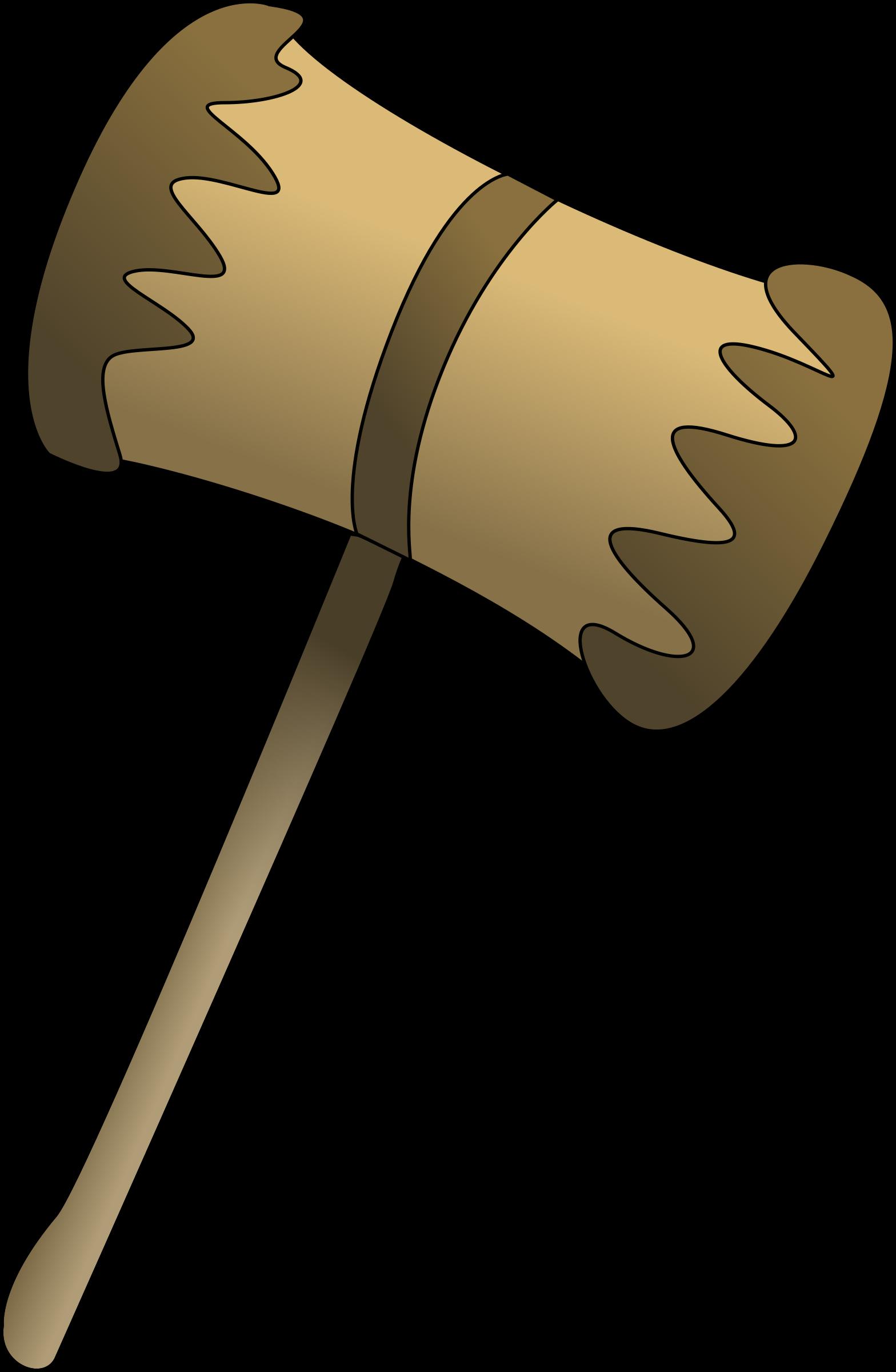 clipart freeuse Mallet big image png. Hammer clipart wooden hammer