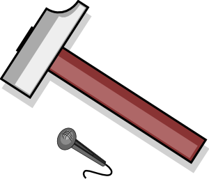 clip art transparent stock Hammer clipart wooden hammer. Clip art at clker