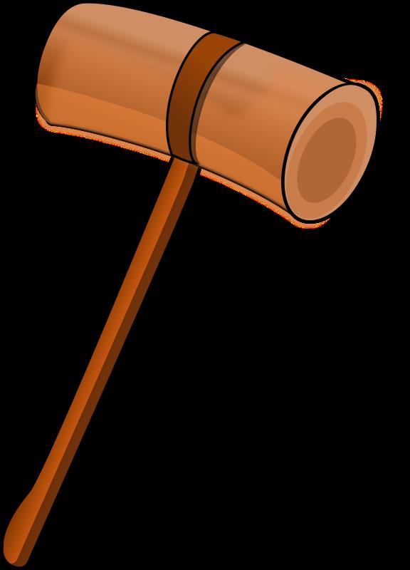clip art royalty free stock Hammer clipart wooden hammer. Mallet medium image png
