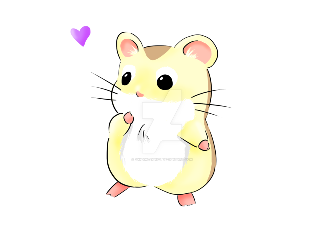 vector transparent library Hamster clipart. Drawn cute free on
