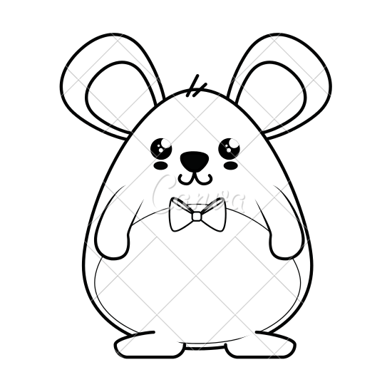 clip art Hamster clipart color. Cute drawing at getdrawings