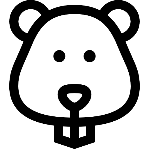 clipart transparent library Icon . Hamster clipart black and white