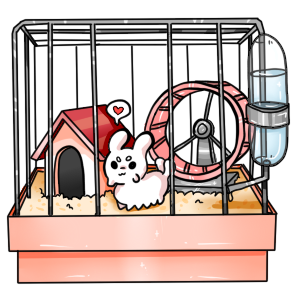 graphic free Hamster clipart color. Pacapiller cage ych open