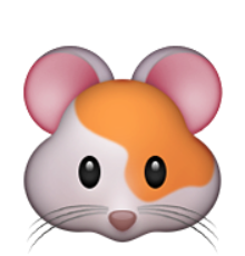 jpg royalty free download Ios emoji . Hamster clipart face