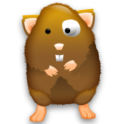 svg free library Hamster clipart hamster ball. Little brown icon png