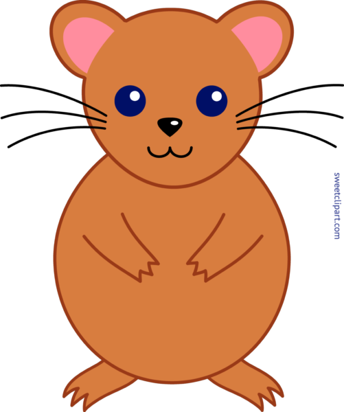 picture freeuse download Hamster clipart simple