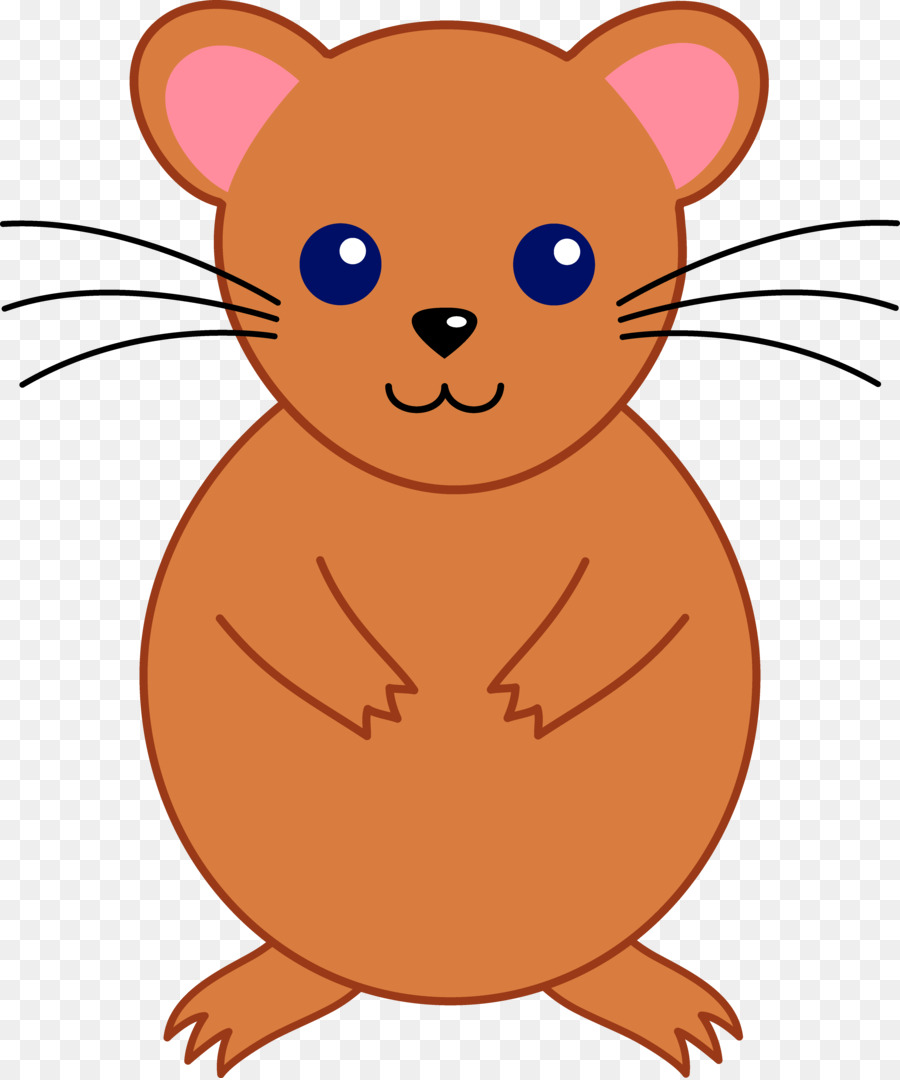vector stock Guinea pig pet clip. Hamster clipart rodent.