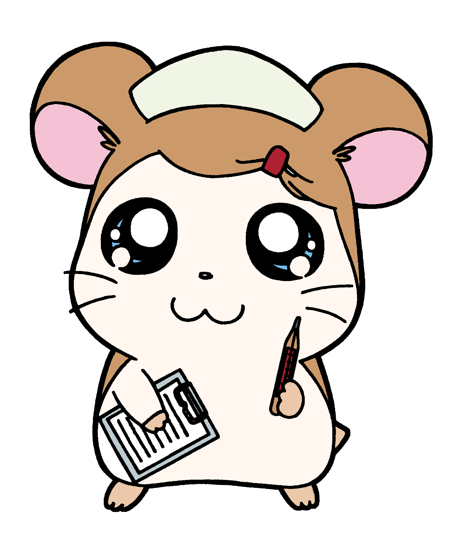 clip art library download Flora the hamtaro wiki. Hamster clipart sick