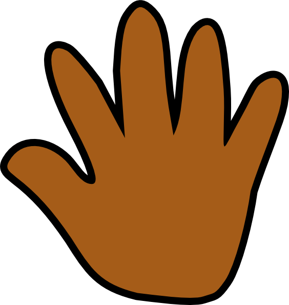 svg freeuse Pencil and in color. Hand clipart african american