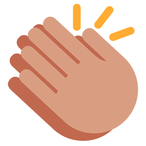 clip royalty free  collection of hands. Hand clipart clapping