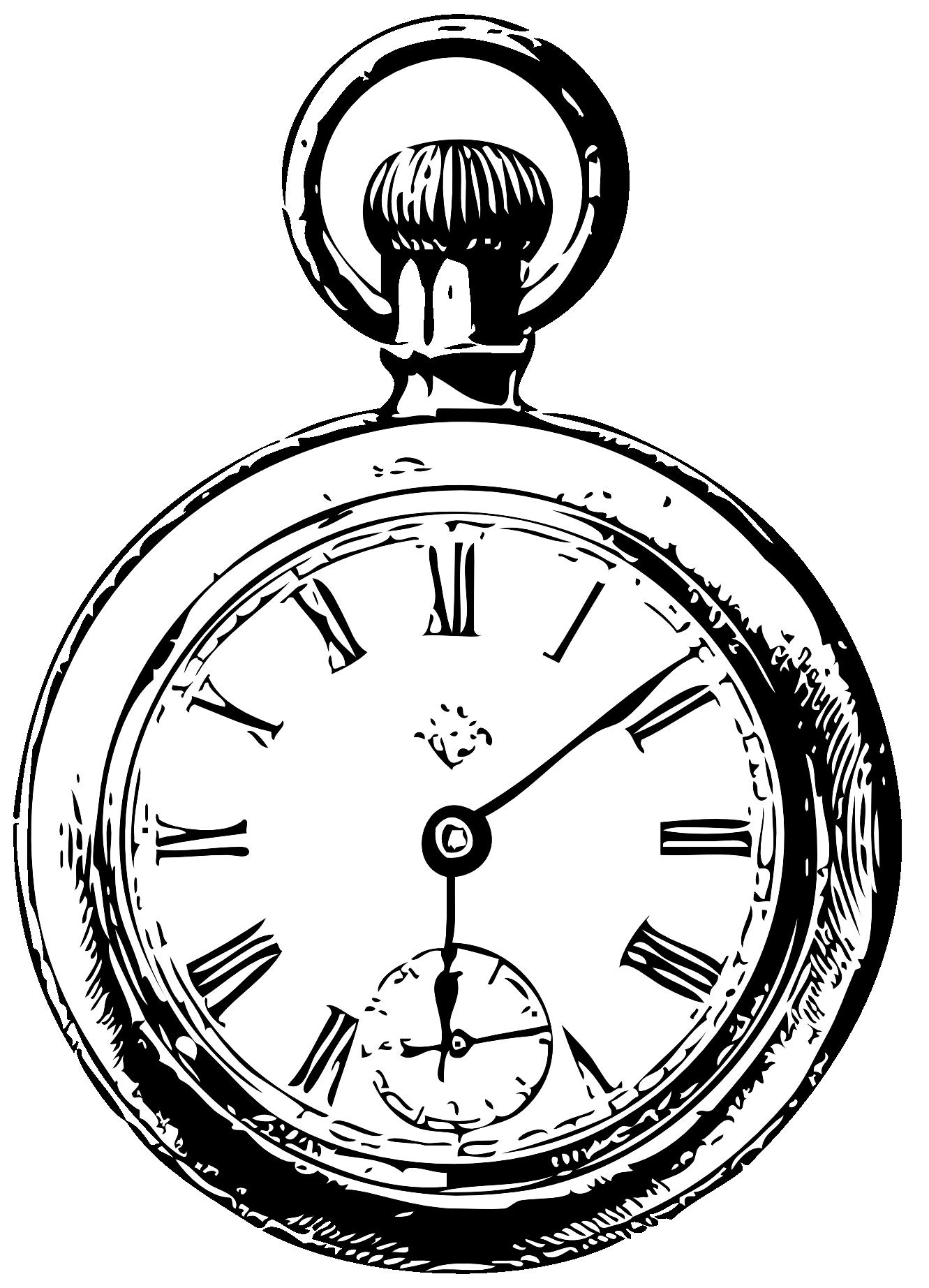 clip art freeuse stock Hand clipart stopwatch. Alice watch in wonderland
