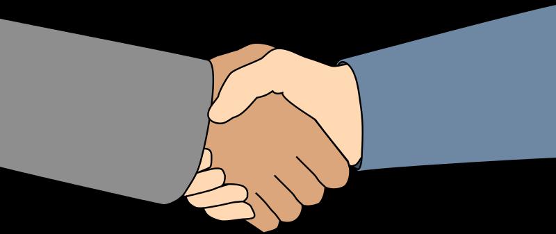 svg royalty free stock Handshake clipart shake hand. Hands shaking clip art