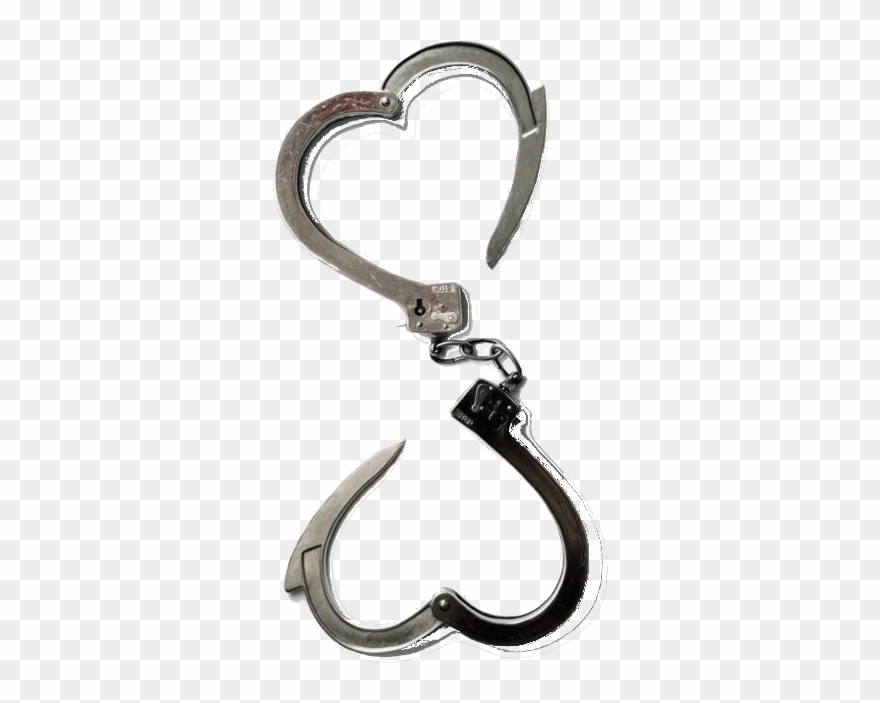 clip transparent download Handcuff clipart heart. Handcuffs transparent background