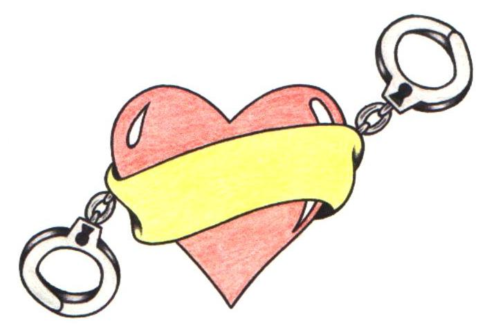 svg royalty free download Free cuffs cliparts download. Handcuff clipart heart