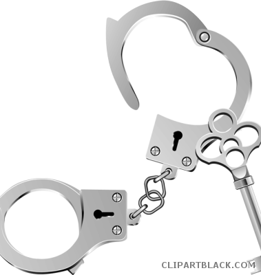 picture library library Handcuffs page of clipartblack. Handcuff clipart police tool