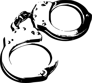 banner freeuse stock Handcuffs clipart. Clip art at clker.