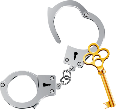 black and white download Policing panda free images. Handcuffs clipart police equipment