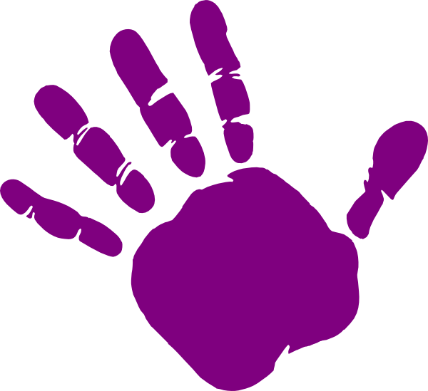 free library Handprint clipart. Cilpart attractive inspiration st