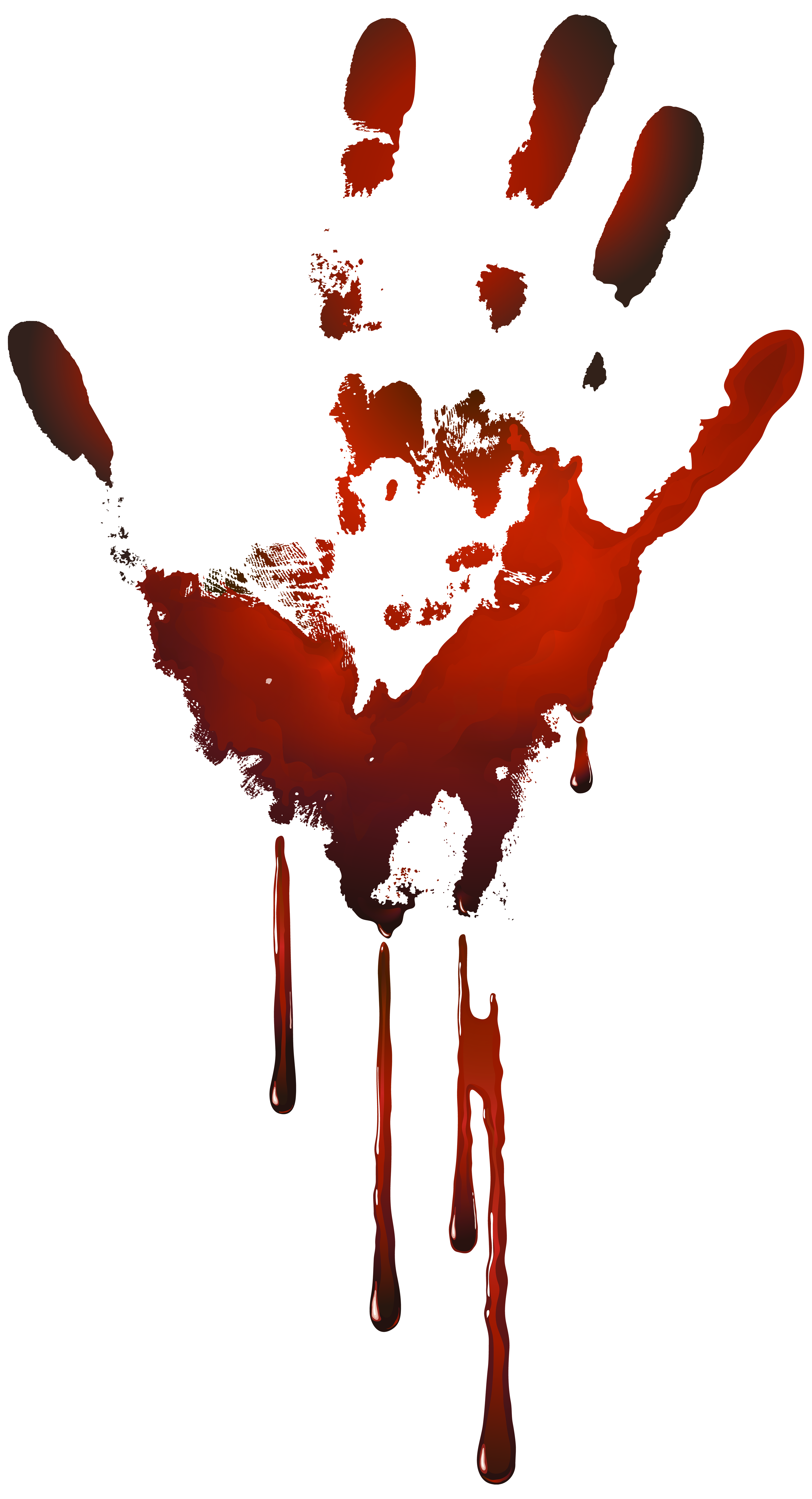 image freeuse library Bloody png clip art. Handprint clipart red