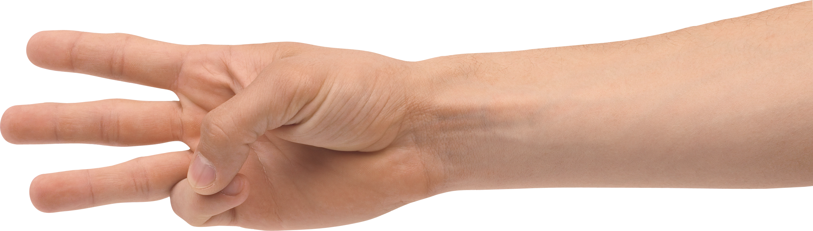 banner transparent Three finger hand png. Hands clipart forearm